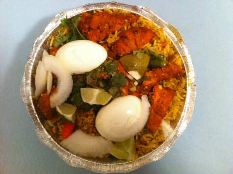 Green Chilli Iselin NJ Chicken Biryani - © SearchIndia.com