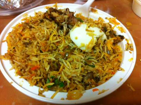 Hyderabadi Delights Iselin Dum Chicken Biryani - © SearchIndia.com