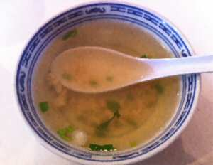 Bangkok Thai Cuisine Chicken Soup