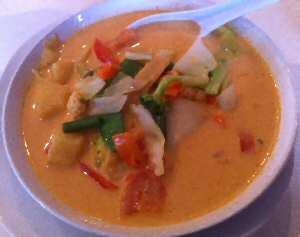 Bangkok Thai Spicy Pineapple Curry