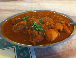 Star of India Chicken Vindaloo