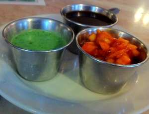 Star of India Green Chutney