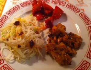 Szechuan Restaurant Bourbon Chicken, Spicy Chicken