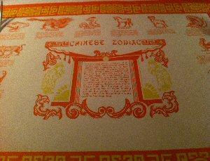Szechuan Restaurant Chinese Zodiac