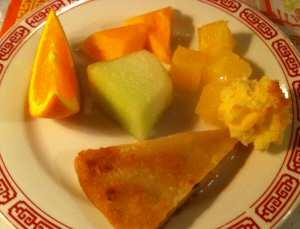 Szechuan Restaurant Desserts