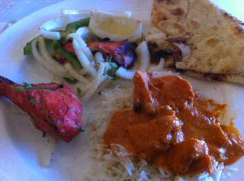 basmati annapolis lunch
