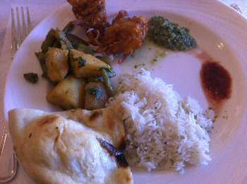 basmati annapolis lunch