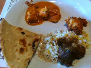 Flavors of India Chicken Tikka Masala, Naan Bread