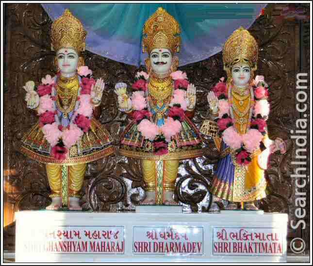 Ghanshyam Maharaj Somerset Swaminarayan Temple NJ
