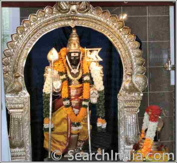 Muruga, Siddhi Vinayaka Temple, Sacramento