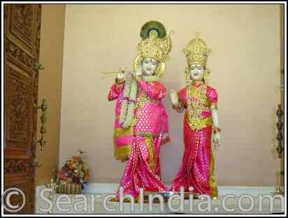 Radha Krishna, Monroeville Temple