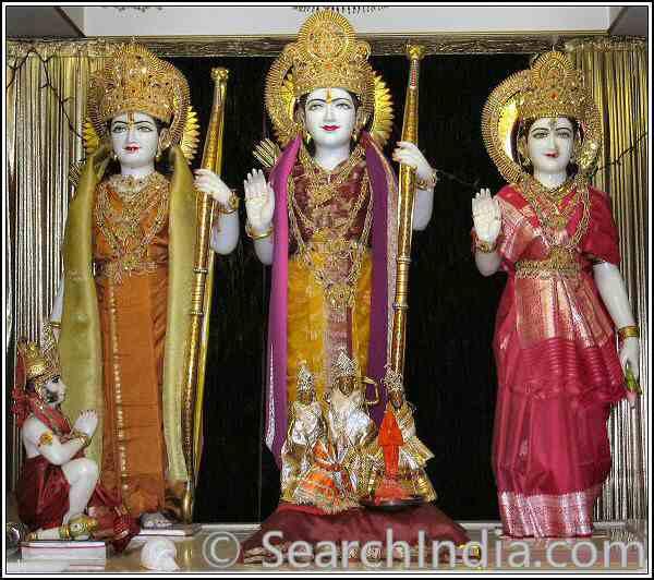 Ram Durbar, Rajdhani Mandir, Chantilly.