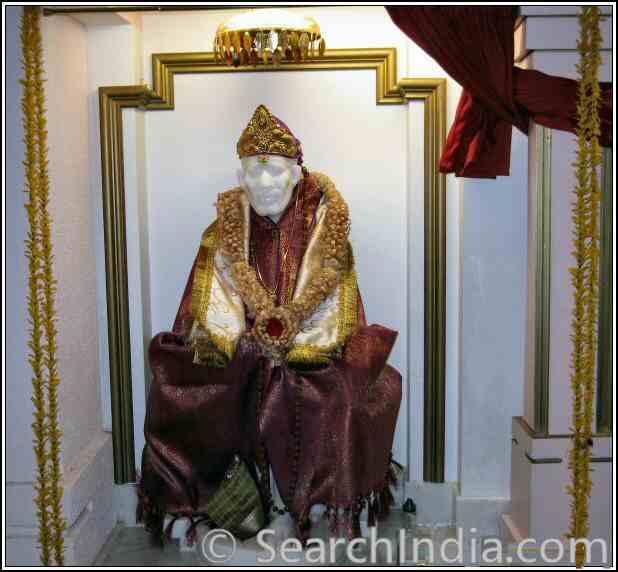 Shirdi Sai Baba, Rajdhani Mandir, Chantilly, VA