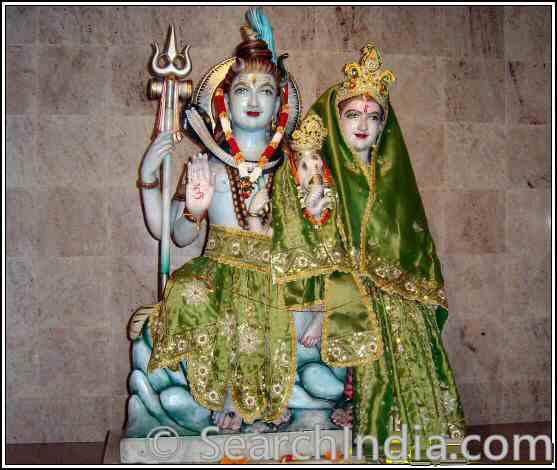 Shiva Parvati, Hanuman Mandir, Hempstead, NY