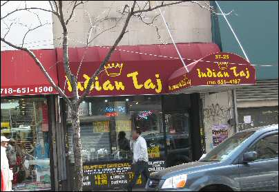 Indian Taj 74th st