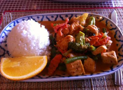 Bangkok City Thai Panang Red Curry