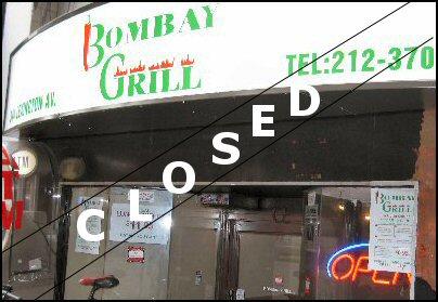 Bombay Grill Lexington Avenue