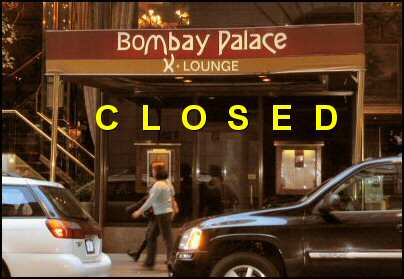 Bombay Palace on W 52nd St NYC