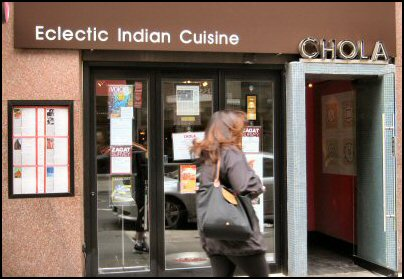 chola nyc indian restaurant