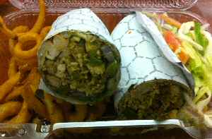 indus express chicken roll
