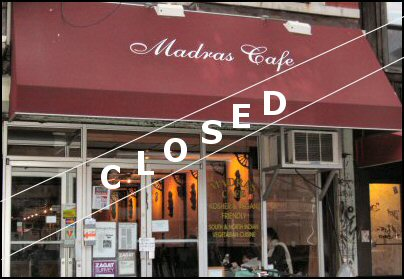 Madras Cafe East Village