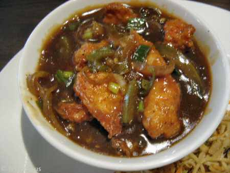 spice symphony chilli chicken © nyindia.us