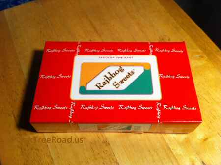 Rajbhog Foods Iselin Sweets box