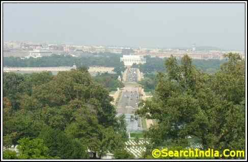 View of Washington DC From Arlington Memorial