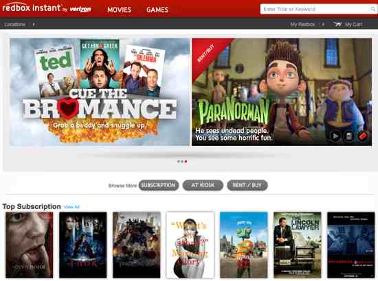 Redbox Instant Movie Review