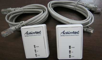 Actiontec PWR 500 Powerline Network Adapter - SearchIndia.com
