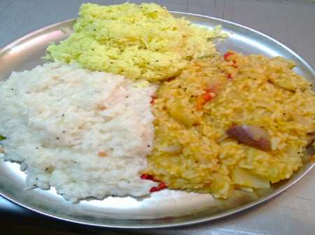 Amma Canteen Chennai Lunch Items - © SearchIndia.com