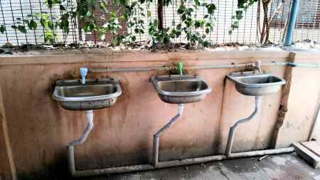 Amma Canteen Chennai Hand Wash Basins