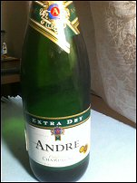 Andre Extra Dry California Champagne $4.99