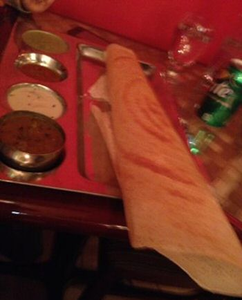 Anjappar Chettinad NYC Plain Dosa