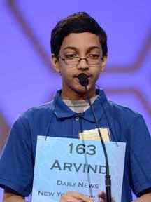 Arvind Mahankali - 2013 Spelling Bee Champion