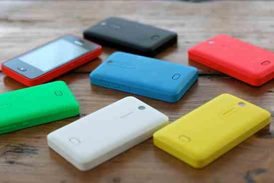 Asha Smartphones Colors