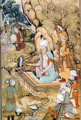 Mughal King Babur
