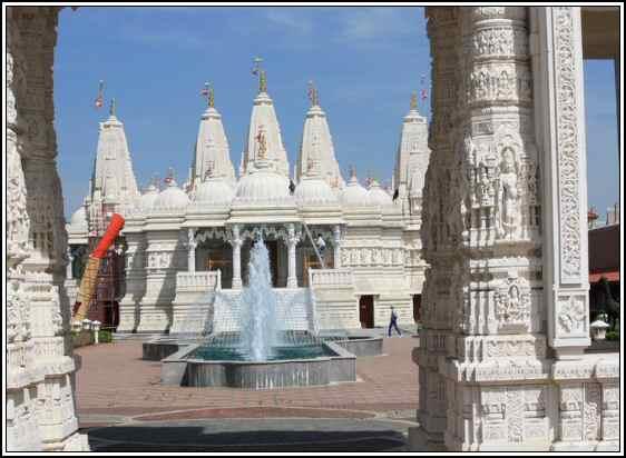 BAPS Swaminarayan Mandir Bartlett, IL