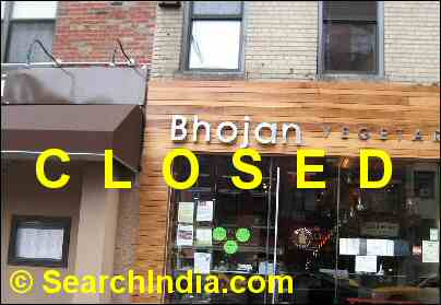 Bhojan NYC serves spoiled Indian food to diners