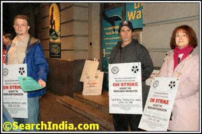 NYC Broadway Strike
