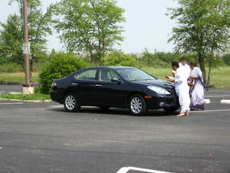 Car Pooja at a Midwest Hindu Temple
