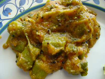 Chilli Okra Curry