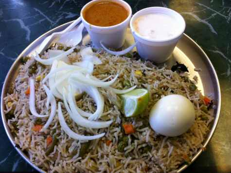 Dakshin Express Oak Tree Road Egg Biryani - © SearchIndia.com