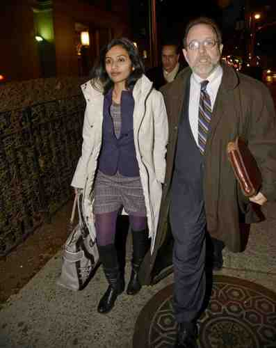 NYC Indian Diplomat Devyani Khobragade Leaving a Manhattan Court