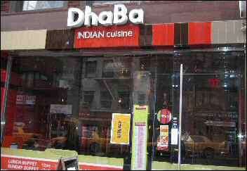 Dhaba NYC - Serves Crappy Indian Food