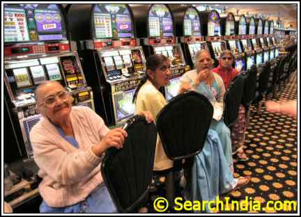Gujarati Women at an Atlantic City Casino