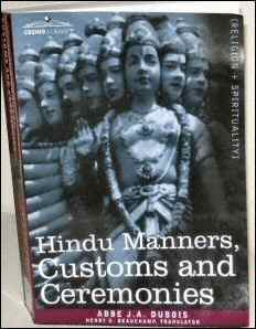Hindu Manners and Customs by Abbe Dubois