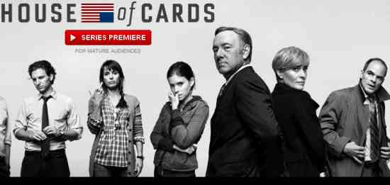 House of Cards Netflix TV Series