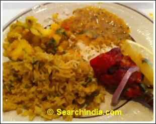 House of India Chicken Biryani