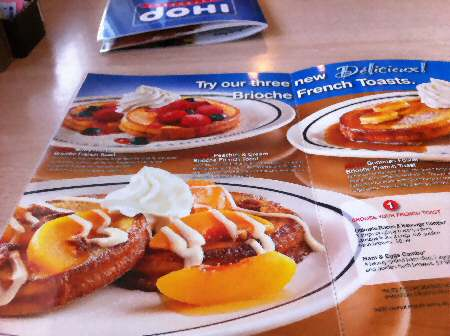 IHOP Brioche French Toast- Image © SearchIndia.com